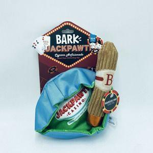 Bark Box Cigrrrr Arficionado XS-M Dog Toy